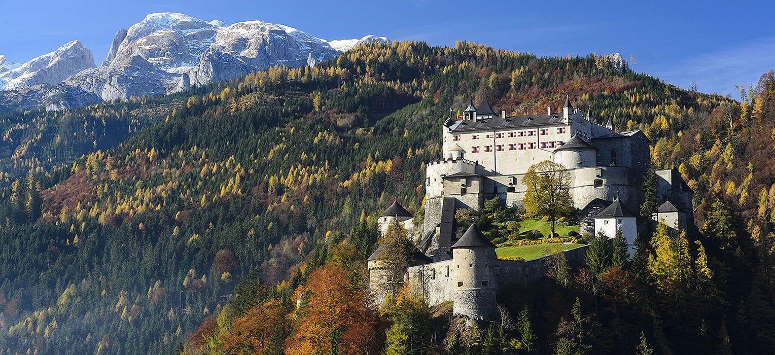 Festung Hohenwerfen - Ausflugsziele im Salzburger Land
