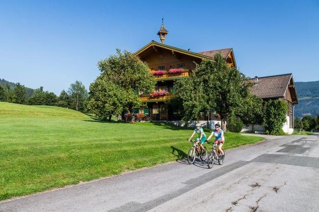 Radfahren & Mountainbiken in der Salzburger Sportwelt