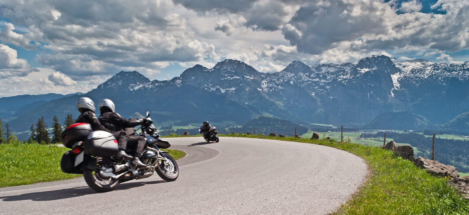 Motorradurlaub in Salzburg