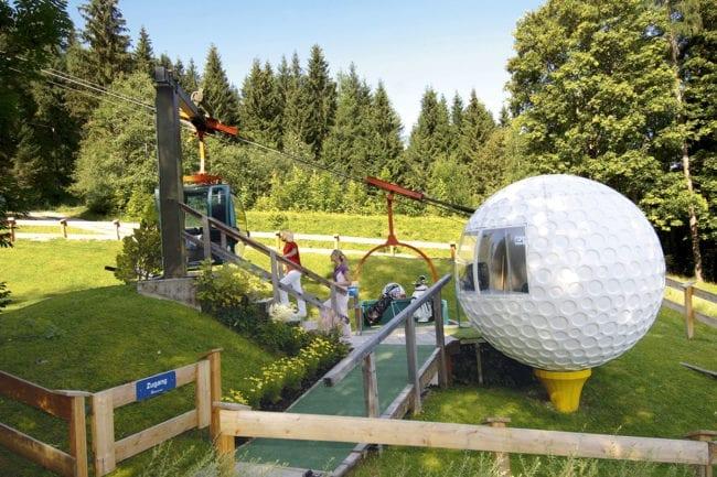 Golfen im Sommerurlaub in Radstadt, Salzburger Land