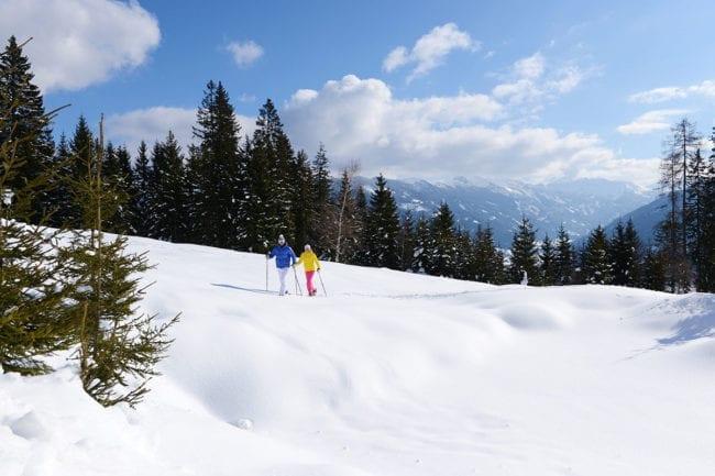 Schneeschuhwandern im Winterurlaub in Radstadt, Salzburger Land